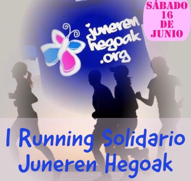 I running solidario juneren hegoak
